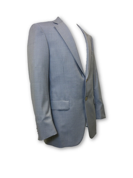 Pal Zileri fully structured jacket in blue- khakisurfer.com Latest menswear designer brands added include Eton, Etro, Agave Denim, Pal Zileri, Circle of Gentlemen, Ralph Lauren, Scotch and Soda, Hugo Boss, Armani Jeans, Armani Collezioni.