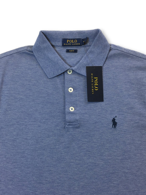 Ralph Lauren Polo slim fit polo in camp blue