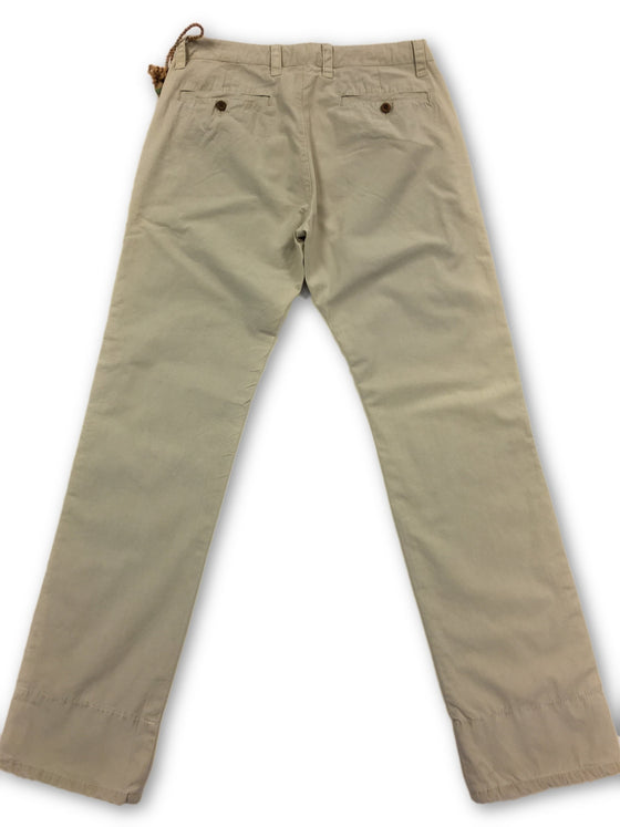 Tailor Vintage chino in stone- khakisurfer.com Latest menswear designer brands added include Eton, Etro, Agave Denim, Pal Zileri, Circle of Gentlemen, Ralph Lauren, Scotch and Soda, Hugo Boss, Armani Jeans, Armani Collezioni.
