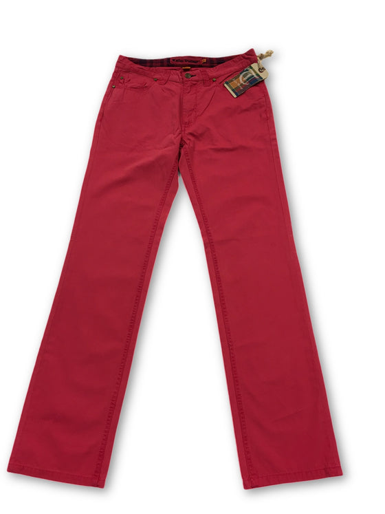 Tailor Vintage jeans in pink cotton- khakisurfer.com Latest menswear designer brands added include Eton, Etro, Agave Denim, Pal Zileri, Circle of Gentlemen, Ralph Lauren, Scotch and Soda, Hugo Boss, Armani Jeans, Armani Collezioni.