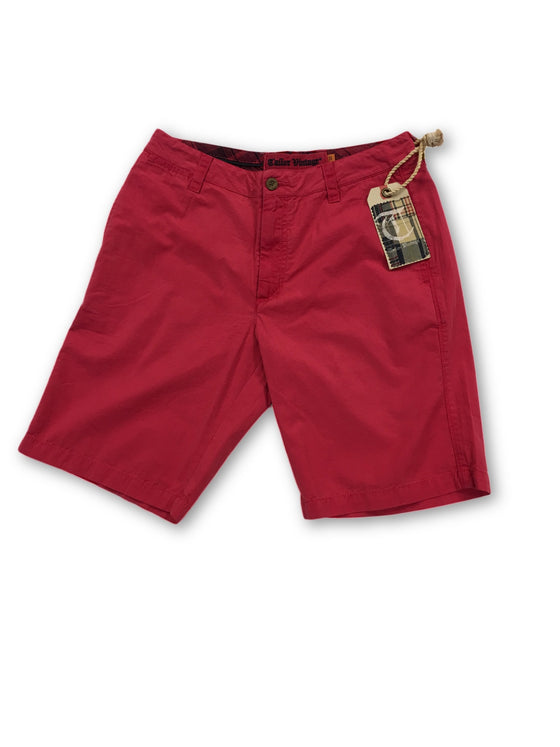Tailor Vintage shorts in pink- khakisurfer.com Latest menswear designer brands added include Eton, Etro, Agave Denim, Pal Zileri, Circle of Gentlemen, Ralph Lauren, Scotch and Soda, Hugo Boss, Armani Jeans, Armani Collezioni.