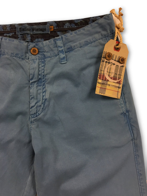 Tailor Vintage chino in blue- khakisurfer.com Latest menswear designer brands added include Eton, Etro, Agave Denim, Pal Zileri, Circle of Gentlemen, Ralph Lauren, Scotch and Soda, Hugo Boss, Armani Jeans, Armani Collezioni.