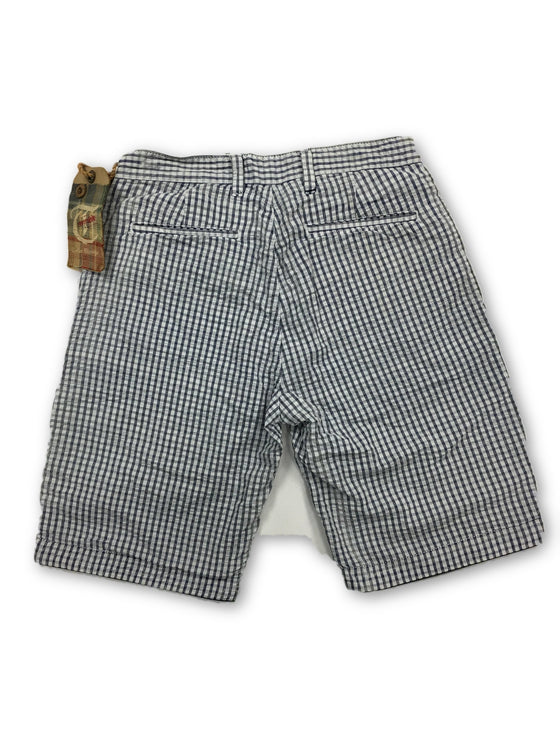 Tailor Vintage reversible shorts in blue- khakisurfer.com Latest menswear designer brands added include Eton, Etro, Agave Denim, Pal Zileri, Circle of Gentlemen, Ralph Lauren, Scotch and Soda, Hugo Boss, Armani Jeans, Armani Collezioni.