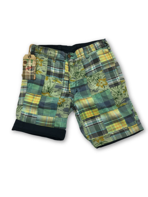 Tailor Vintage reversible shorts in green- khakisurfer.com Latest menswear designer brands added include Eton, Etro, Agave Denim, Pal Zileri, Circle of Gentlemen, Ralph Lauren, Scotch and Soda, Hugo Boss, Armani Jeans, Armani Collezioni.
