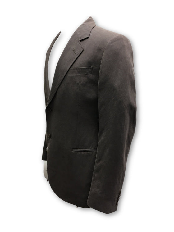 Armani Collezioni blazer jacket in grey- khakisurfer.com Latest menswear designer brands added include Eton, Etro, Agave Denim, Pal Zileri, Circle of Gentlemen, Ralph Lauren, Scotch and Soda, Hugo Boss, Armani Jeans, Armani Collezioni.