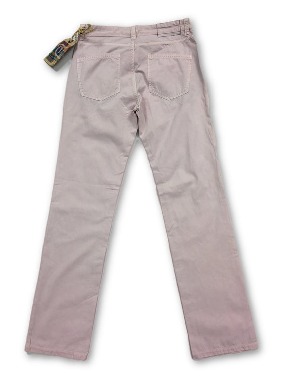 Tailor Vintage jeans in pale pink cotton- khakisurfer.com Latest menswear designer brands added include Eton, Etro, Agave Denim, Pal Zileri, Circle of Gentlemen, Ralph Lauren, Scotch and Soda, Hugo Boss, Armani Jeans, Armani Collezioni.