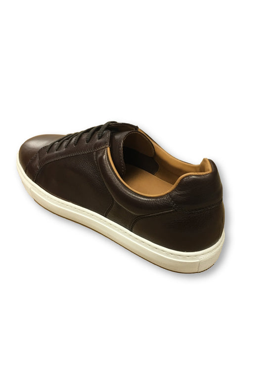 Stemar trainer style shoes in brown