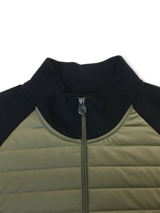 Colmar Cybernetic jersey/quilted bomber jacket in olive green/black- khakisurfer.com Latest menswear designer brands added include Eton, Etro, Agave Denim, Pal Zileri, Circle of Gentlemen, Ralph Lauren, Scotch and Soda, Hugo Boss, Armani Jeans, Armani Collezioni.