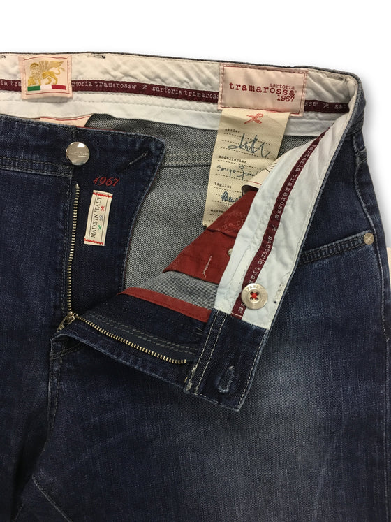 Sartoria Tramarossa Michelangelo jeans in denim blue (12 month)
