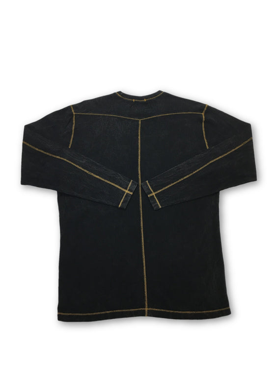 Agave Lux Hammerhead top in black- khakisurfer.com Latest menswear designer brands added include Eton, Etro, Agave Denim, Pal Zileri, Circle of Gentlemen, Ralph Lauren, Scotch and Soda, Hugo Boss, Armani Jeans, Armani Collezioni.