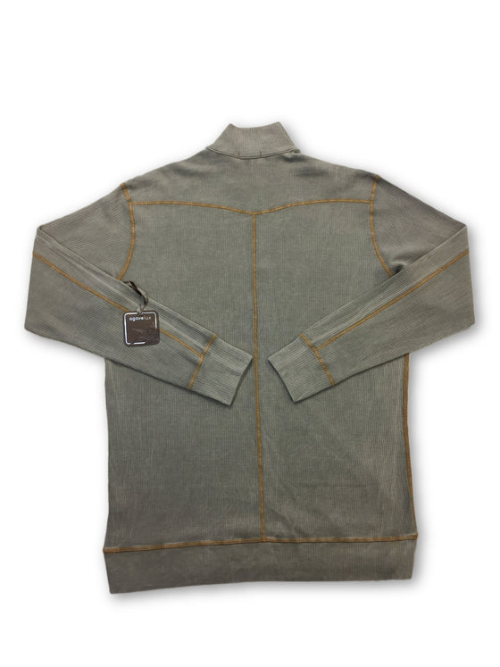 Agave Lux Steelhead top in grey- khakisurfer.com Latest menswear designer brands added include Eton, Etro, Agave Denim, Pal Zileri, Circle of Gentlemen, Ralph Lauren, Scotch and Soda, Hugo Boss, Armani Jeans, Armani Collezioni.