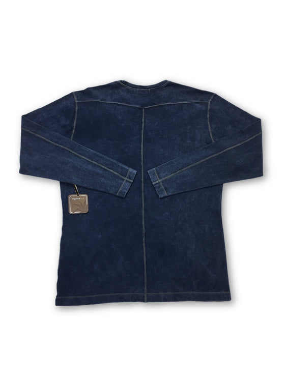 Agave Lux Solitude top in blue- khakisurfer.com Latest menswear designer brands added include Eton, Etro, Agave Denim, Pal Zileri, Circle of Gentlemen, Ralph Lauren, Scotch and Soda, Hugo Boss, Armani Jeans, Armani Collezioni.