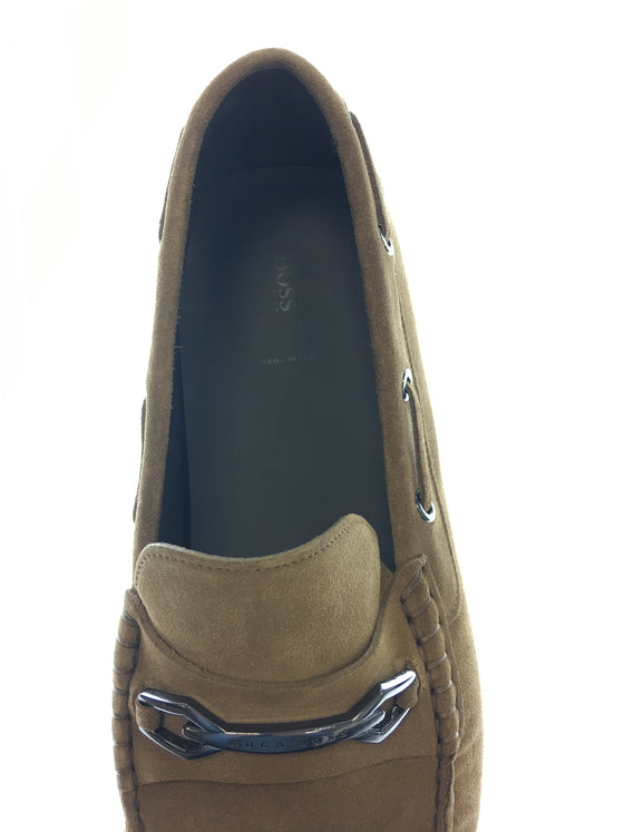 HUGO BOSS Driprin loafer shoes in brown- khakisurfer.com Latest menswear designer brands added include Eton, Etro, Agave Denim, Pal Zileri, Circle of Gentlemen, Ralph Lauren, Scotch and Soda, Hugo Boss, Armani Jeans, Armani Collezioni.