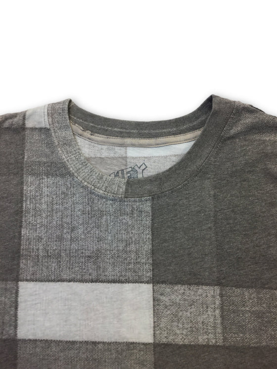 Hey Billy Madras Print T-shirt in charcoal- khakisurfer.com Latest menswear designer brands added include Eton, Etro, Agave Denim, Pal Zileri, Circle of Gentlemen, Ralph Lauren, Scotch and Soda, Hugo Boss, Armani Jeans, Armani Collezioni.