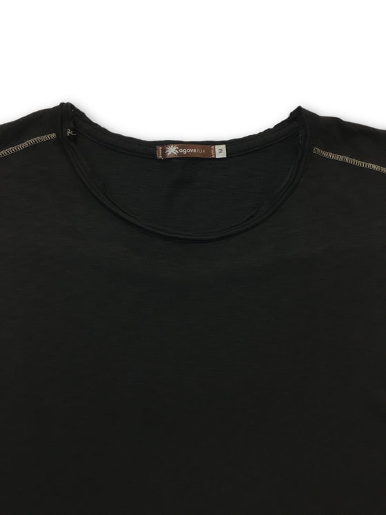 Agave Lux top in black- khakisurfer.com Latest menswear designer brands added include Eton, Etro, Agave Denim, Pal Zileri, Circle of Gentlemen, Ralph Lauren, Scotch and Soda, Hugo Boss, Armani Jeans, Armani Collezioni.