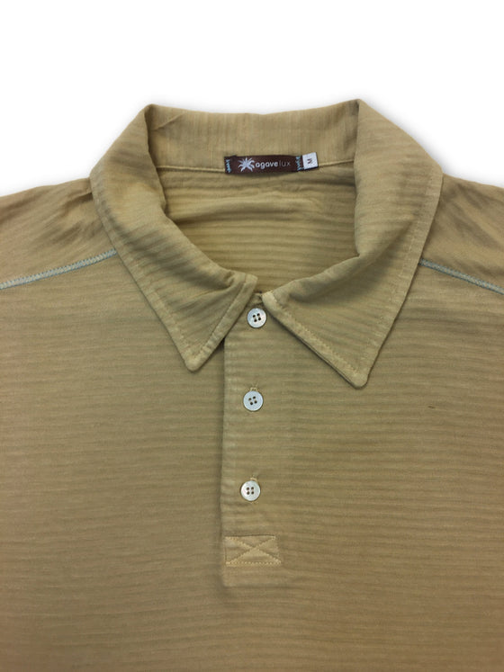 Agave Lux Alder polo in brown- khakisurfer.com Latest menswear designer brands added include Eton, Etro, Agave Denim, Pal Zileri, Circle of Gentlemen, Ralph Lauren, Scotch and Soda, Hugo Boss, Armani Jeans, Armani Collezioni.