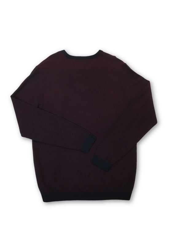 Olymp knitwear in burgundy- khakisurfer.com Latest menswear designer brands added include Eton, Etro, Agave Denim, Pal Zileri, Circle of Gentlemen, Ralph Lauren, Scotch and Soda, Hugo Boss, Armani Jeans, Armani Collezioni.