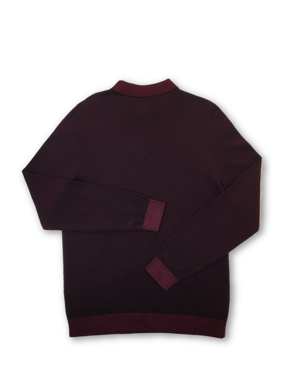 Olymp level 5 body fit knitwear in wine red and black- khakisurfer.com Latest menswear designer brands added include Eton, Etro, Agave Denim, Pal Zileri, Circle of Gentlemen, Ralph Lauren, Scotch and Soda, Hugo Boss, Armani Jeans, Armani Collezioni.