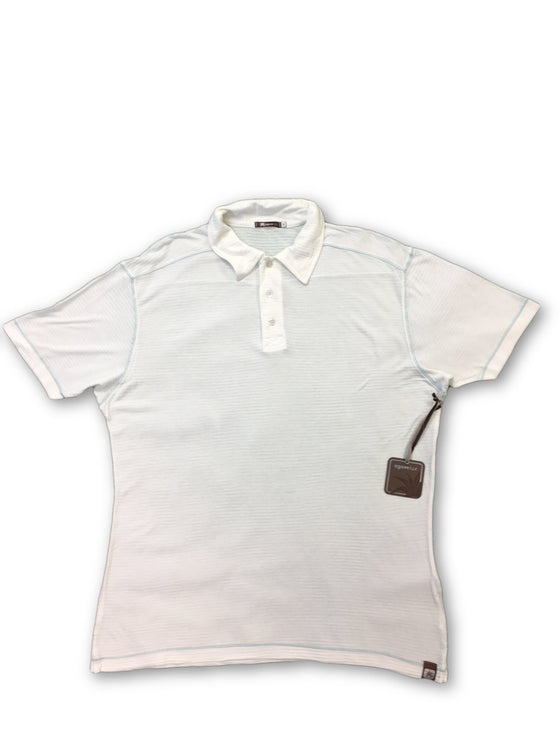 Agave Lux Alder polo in white- khakisurfer.com Latest menswear designer brands added include Eton, Etro, Agave Denim, Pal Zileri, Circle of Gentlemen, Ralph Lauren, Scotch and Soda, Hugo Boss, Armani Jeans, Armani Collezioni.