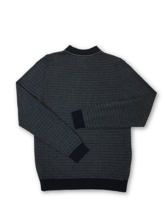 Olymp level 5 body fit knitwear in navy/grey diamond pattern- khakisurfer.com Latest menswear designer brands added include Eton, Etro, Agave Denim, Pal Zileri, Circle of Gentlemen, Ralph Lauren, Scotch and Soda, Hugo Boss, Armani Jeans, Armani Collezioni.