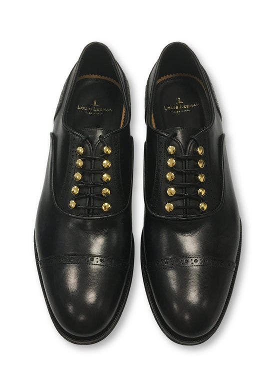 Louis Leeman Vitello oxfords in black- khakisurfer.com Latest menswear designer brands added include Eton, Etro, Agave Denim, Pal Zileri, Circle of Gentlemen, Ralph Lauren, Scotch and Soda, Hugo Boss, Armani Jeans, Armani Collezioni.