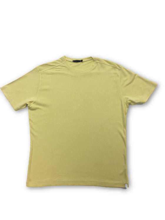 Agave Copper Arc T-shirt in yellow- khakisurfer.com Latest menswear designer brands added include Eton, Etro, Agave Denim, Pal Zileri, Circle of Gentlemen, Ralph Lauren, Scotch and Soda, Hugo Boss, Armani Jeans, Armani Collezioni.