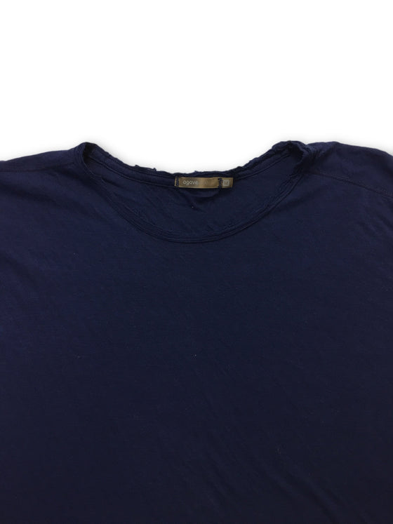 Agave Silver Piton T-shirt in blue- khakisurfer.com Latest menswear designer brands added include Eton, Etro, Agave Denim, Pal Zileri, Circle of Gentlemen, Ralph Lauren, Scotch and Soda, Hugo Boss, Armani Jeans, Armani Collezioni.