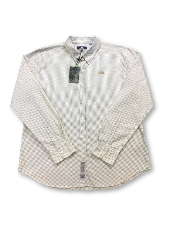 Agave polo shirt in beige and white striped supima cotton- khakisurfer.com Latest menswear designer brands added include Eton, Etro, Agave Denim, Pal Zileri, Circle of Gentlemen, Ralph Lauren, Scotch and Soda, Hugo Boss, Armani Jeans, Armani Collezioni.