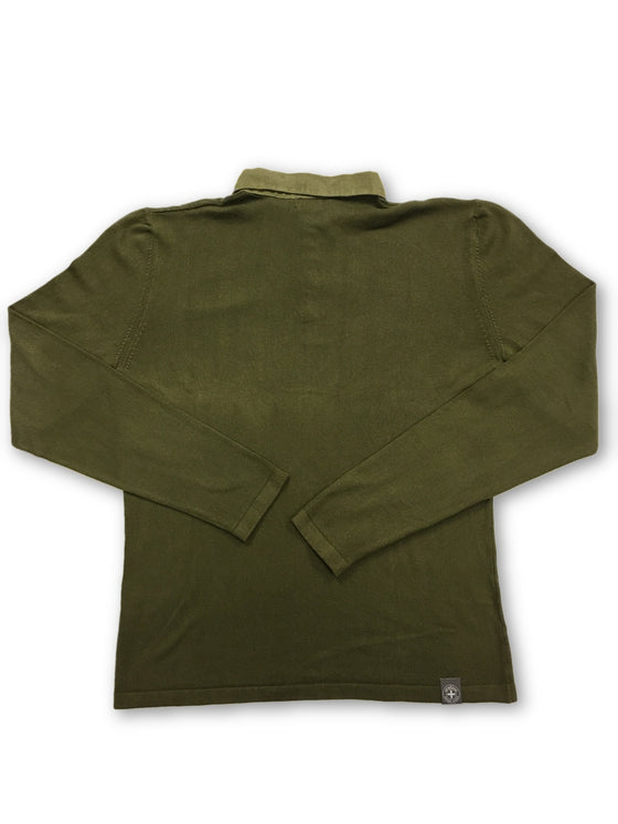 Strellson khaki long sleeved knitted polo- khakisurfer.com Latest menswear designer brands added include Eton, Etro, Agave Denim, Pal Zileri, Circle of Gentlemen, Ralph Lauren, Scotch and Soda, Hugo Boss, Armani Jeans, Armani Collezioni.