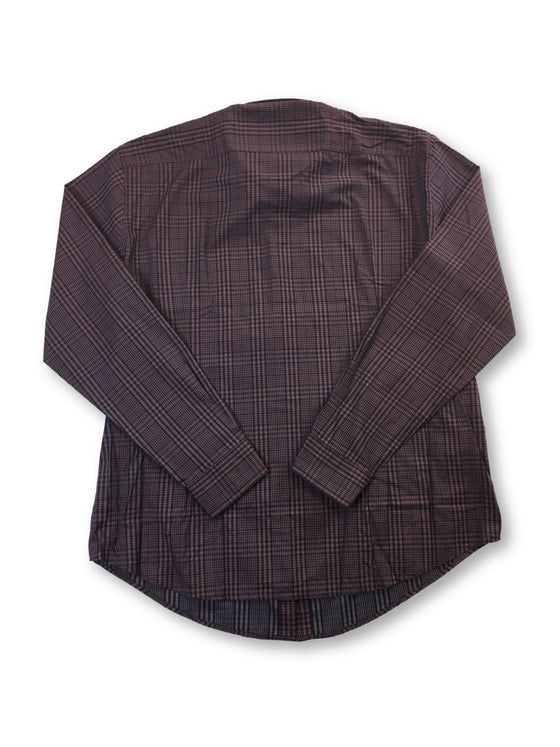 HUGO BOSS Ronni slim fit cotton shirt in burgundy check- khakisurfer.com Latest menswear designer brands added include Eton, Etro, Agave Denim, Pal Zileri, Circle of Gentlemen, Ralph Lauren, Scotch and Soda, Hugo Boss, Armani Jeans, Armani Collezioni.