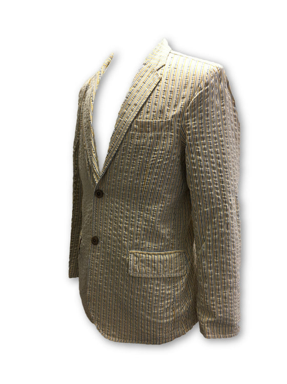 Tailor Vintage jacket in yellow- khakisurfer.com Latest menswear designer brands added include Eton, Etro, Agave Denim, Pal Zileri, Circle of Gentlemen, Ralph Lauren, Scotch and Soda, Hugo Boss, Armani Jeans, Armani Collezioni.