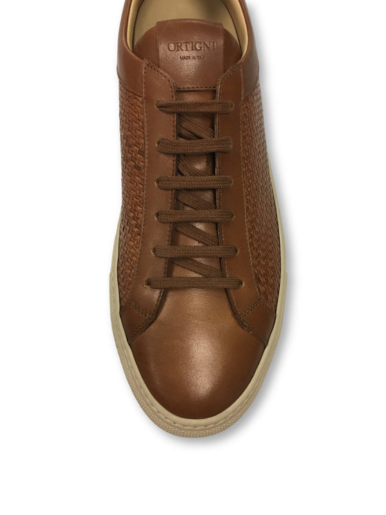 Ortigni leather shoes in brown