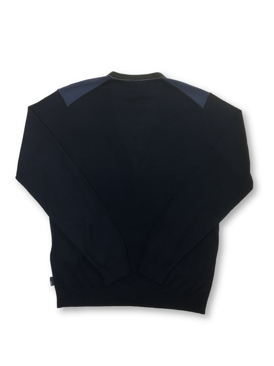 Armani Collezioni cardigan in blue and navy- khakisurfer.com Latest menswear designer brands added include Eton, Etro, Agave Denim, Pal Zileri, Circle of Gentlemen, Ralph Lauren, Scotch and Soda, Hugo Boss, Armani Jeans, Armani Collezioni.