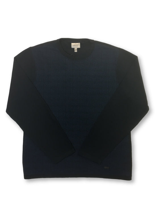 Armani Collezioni knitwear in navy- khakisurfer.com Latest menswear designer brands added include Eton, Etro, Agave Denim, Pal Zileri, Circle of Gentlemen, Ralph Lauren, Scotch and Soda, Hugo Boss, Armani Jeans, Armani Collezioni.