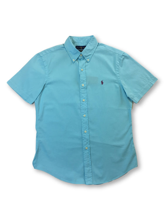 Ralph Lauren slim fit featherweight twill cotton shirt in sky blue- khakisurfer.com Latest menswear designer brands added include Eton, Etro, Agave Denim, Pal Zileri, Circle of Gentlemen, Ralph Lauren, Scotch and Soda, Hugo Boss, Armani Jeans, Armani Collezioni.