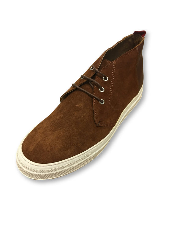 Oliver Spencer Beat boot in tan brown suede