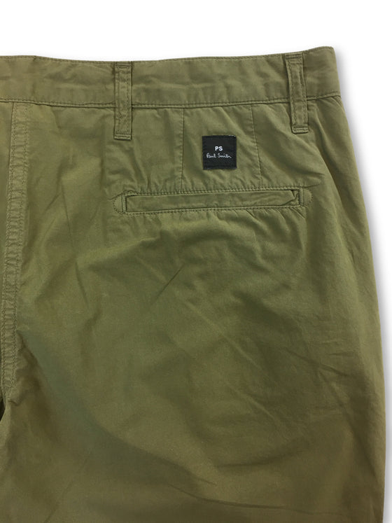 Paul Smith lightweight cotton tailored chinos in khaki- khakisurfer.com Latest menswear designer brands added include Eton, Etro, Agave Denim, Pal Zileri, Circle of Gentlemen, Ralph Lauren, Scotch and Soda, Hugo Boss, Armani Jeans, Armani Collezioni.