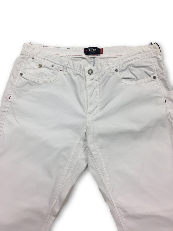 Jaggy 'Steve Slim' cotton jeans in white- khakisurfer.com Latest menswear designer brands added include Eton, Etro, Agave Denim, Pal Zileri, Circle of Gentlemen, Ralph Lauren, Scotch and Soda, Hugo Boss, Armani Jeans, Armani Collezioni.