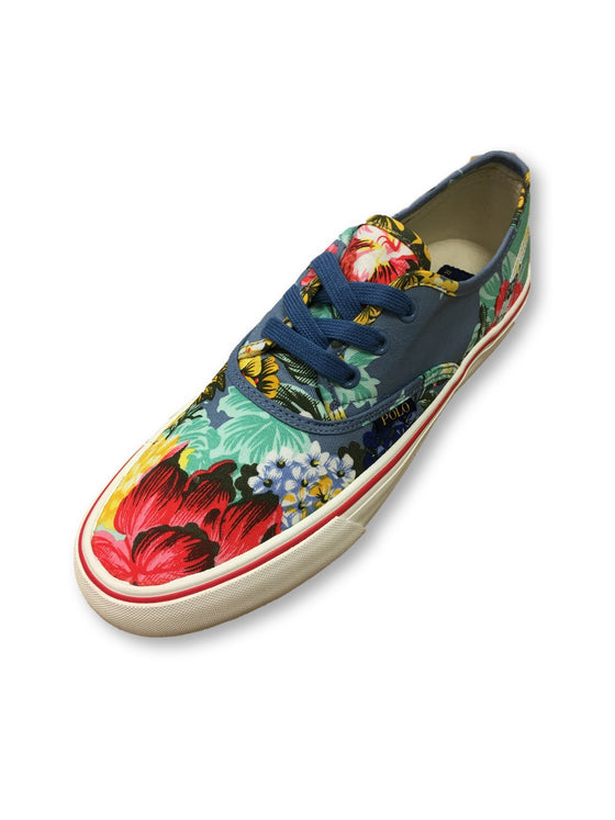 Ralph Lauren Polo Morrey-Ne printed sneakers in multi colour- khakisurfer.com Latest menswear designer brands added include Eton, Etro, Agave Denim, Pal Zileri, Circle of Gentlemen, Ralph Lauren, Scotch and Soda, Hugo Boss, Armani Jeans, Armani Collezioni.