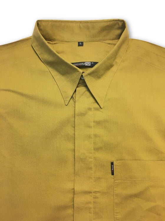 Signum A2 shirt in gold- khakisurfer.com Latest menswear designer brands added include Eton, Etro, Agave Denim, Pal Zileri, Circle of Gentlemen, Ralph Lauren, Scotch and Soda, Hugo Boss, Armani Jeans, Armani Collezioni.