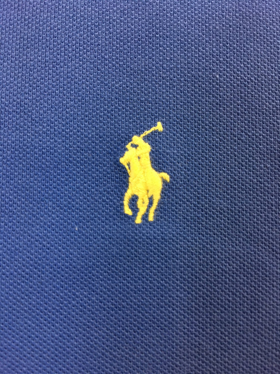 Ralph Lauren Polo custom slim fit cotton polo in blue with logo- khakisurfer.com Latest menswear designer brands added include Eton, Etro, Agave Denim, Pal Zileri, Circle of Gentlemen, Ralph Lauren, Scotch and Soda, Hugo Boss, Armani Jeans, Armani Collezioni.