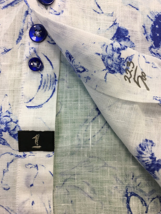 1...like no other Limited edition 1/500 shirt in white and blue- khakisurfer.com Latest menswear designer brands added include Eton, Etro, Agave Denim, Pal Zileri, Circle of Gentlemen, Ralph Lauren, Scotch and Soda, Hugo Boss, Armani Jeans, Armani Collezioni.