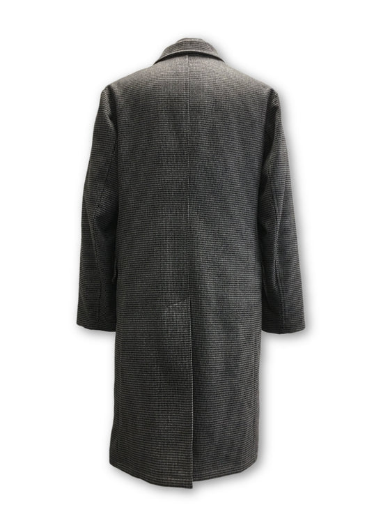 Armani Collezioni coat in grey hounds tooth- khakisurfer.com Latest menswear designer brands added include Eton, Etro, Agave Denim, Pal Zileri, Circle of Gentlemen, Ralph Lauren, Scotch and Soda, Hugo Boss, Armani Jeans, Armani Collezioni.