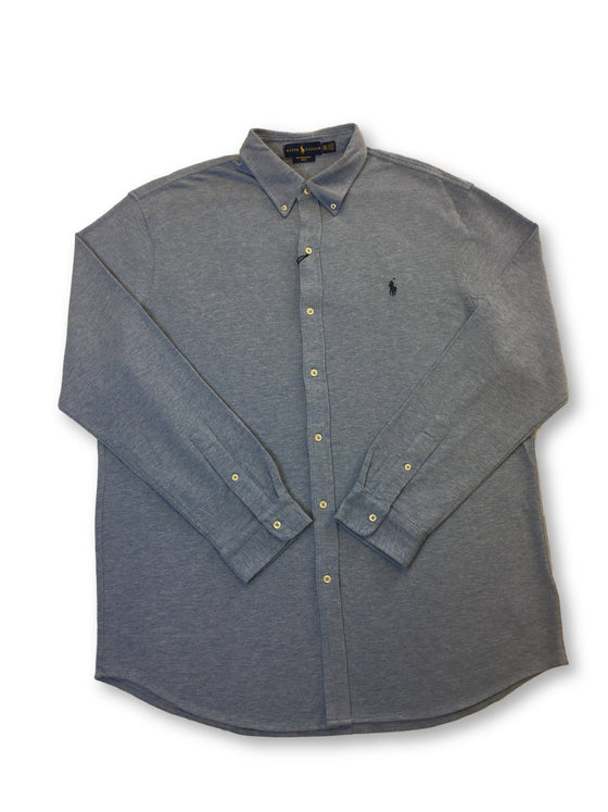 Ralph Lauren Polo featherweight mesh cotton shirt in blue heather- khakisurfer.com Latest menswear designer brands added include Eton, Etro, Agave Denim, Pal Zileri, Circle of Gentlemen, Ralph Lauren, Scotch and Soda, Hugo Boss, Armani Jeans, Armani Collezioni.