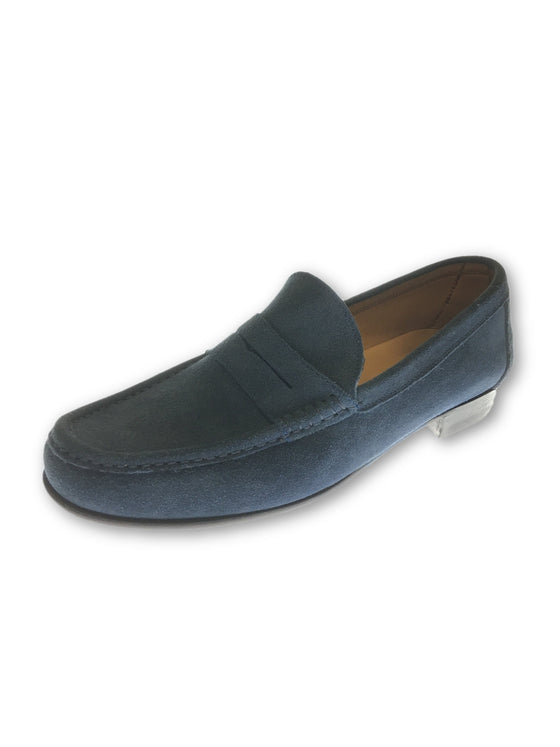 Shipton and Heneage London suede loafers in blue- khakisurfer.com Latest menswear designer brands added include Eton, Etro, Agave Denim, Pal Zileri, Circle of Gentlemen, Ralph Lauren, Scotch and Soda, Hugo Boss, Armani Jeans, Armani Collezioni.