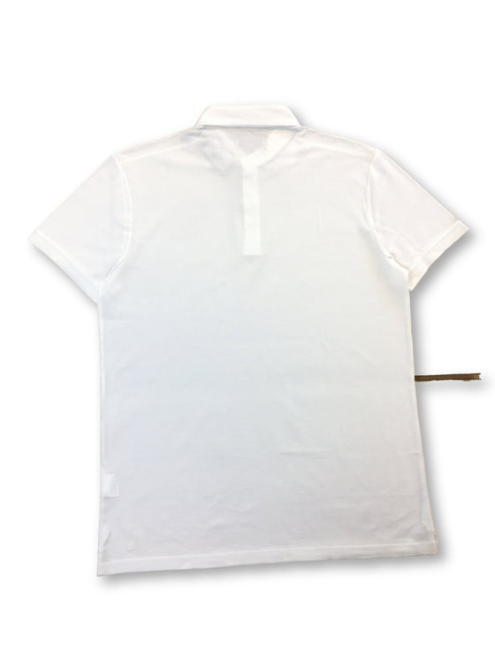 Thomas Maine knitted cotton polo in white- khakisurfer.com Latest menswear designer brands added include Eton, Etro, Agave Denim, Pal Zileri, Circle of Gentlemen, Ralph Lauren, Scotch and Soda, Hugo Boss, Armani Jeans, Armani Collezioni.