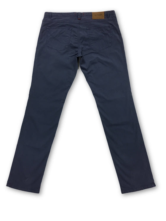 Jaggy Steve slim fit Jeans in blue cotton- khakisurfer.com Latest menswear designer brands added include Eton, Etro, Agave Denim, Pal Zileri, Circle of Gentlemen, Ralph Lauren, Scotch and Soda, Hugo Boss, Armani Jeans, Armani Collezioni.