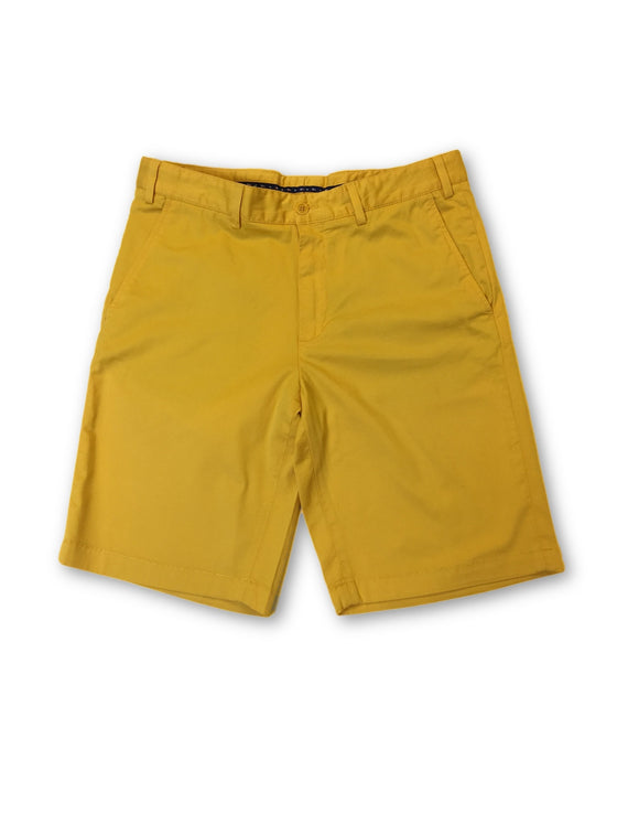 Paul & Shark chino shorts in mustard yellow- khakisurfer.com Latest menswear designer brands added include Eton, Etro, Agave Denim, Pal Zileri, Circle of Gentlemen, Ralph Lauren, Scotch and Soda, Hugo Boss, Armani Jeans, Armani Collezioni.