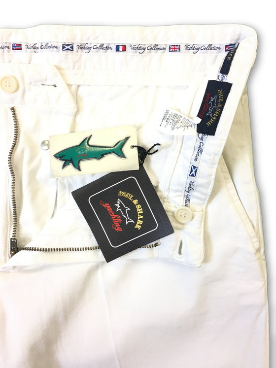 Paul & Shark chino shorts in white- khakisurfer.com Latest menswear designer brands added include Eton, Etro, Agave Denim, Pal Zileri, Circle of Gentlemen, Ralph Lauren, Scotch and Soda, Hugo Boss, Armani Jeans, Armani Collezioni.