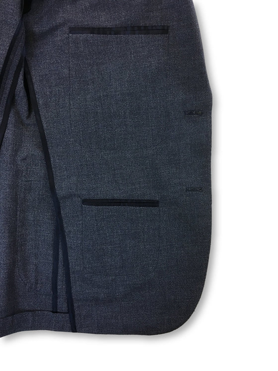 Hardy Amies semi structured jacket in blue- khakisurfer.com Latest menswear designer brands added include Eton, Etro, Agave Denim, Pal Zileri, Circle of Gentlemen, Ralph Lauren, Scotch and Soda, Hugo Boss, Armani Jeans, Armani Collezioni.